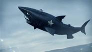 Stylo Vehicle (shark-like submarine transformation)