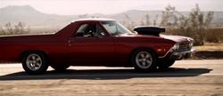 Bruce Willis Chevrolet El Camino