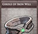 Girdle of Iron Will