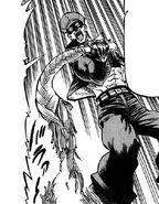 Yuu's whip breaks from Akira's body