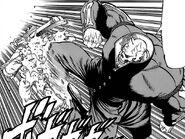 Dokuro attacking Juujika with Hasei Renkyaku