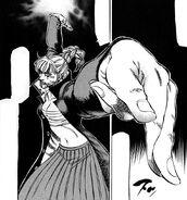 Haruka Scorpion Killing Technique pose