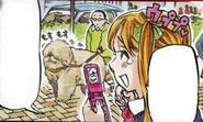 Hinako taking unusual pictures