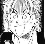 Hinako scared when Akira stare at her