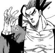 Ryuuzenji injecting Akira