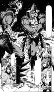 Akira hitting Homuraya