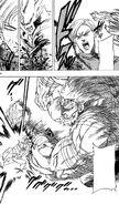 Homura saving Gokurou from Akira