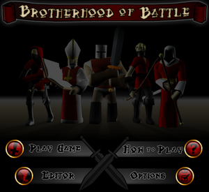 Brotherhood of Battle titlescreen