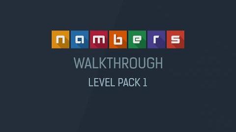 Nambers - Walkthrough Level Pack 1-0