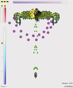 Frantic Gameplay Screen