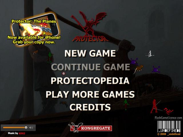 File:Protector title screen.jpg