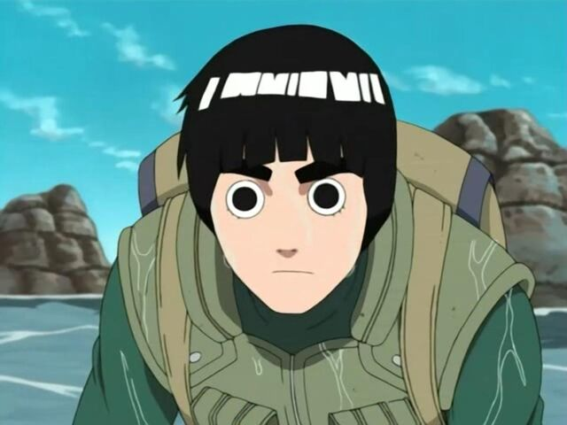 File:Lee during the fight with Kisame.jpg