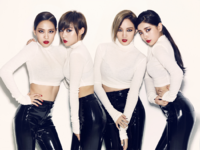 Miss A Hush group photo
