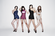 SISTAR So Cool group photo