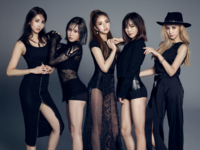 FIESTAR Black Label group photo