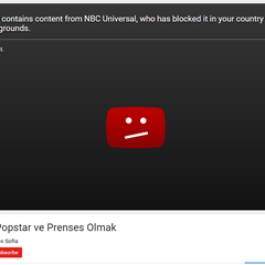 NBCUniversal as they blocked a Barbie related video.