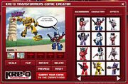 Kre-O Transformers Comic Creator