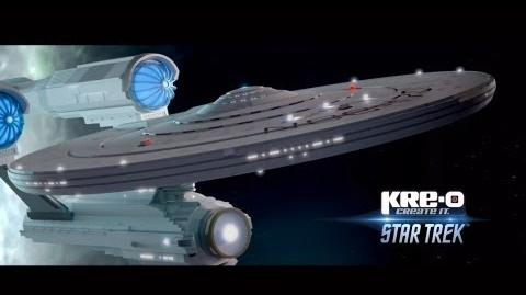KRE-O STAR TREK Stop Motion Digital Short