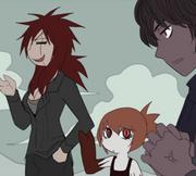1-73 Vasuki, Riagara, and Taksaka