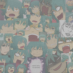 Leez weird faces canvas 904x600