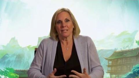 Kung Fu Panda 3 Producer Interview - Melissa Cobb