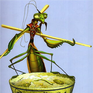 Early concept of Mantis by Oliver Malric and Bill Kaufmann