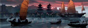 Gongmen Harbor