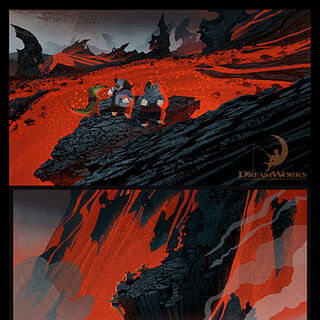 Production design concept #1 by Lorenzo E. Martinez, Mick DeFalco, Max Boas and Nate Wragg