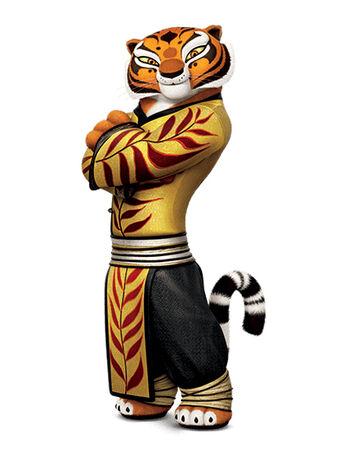 Kung fu panda tiger - photo#5