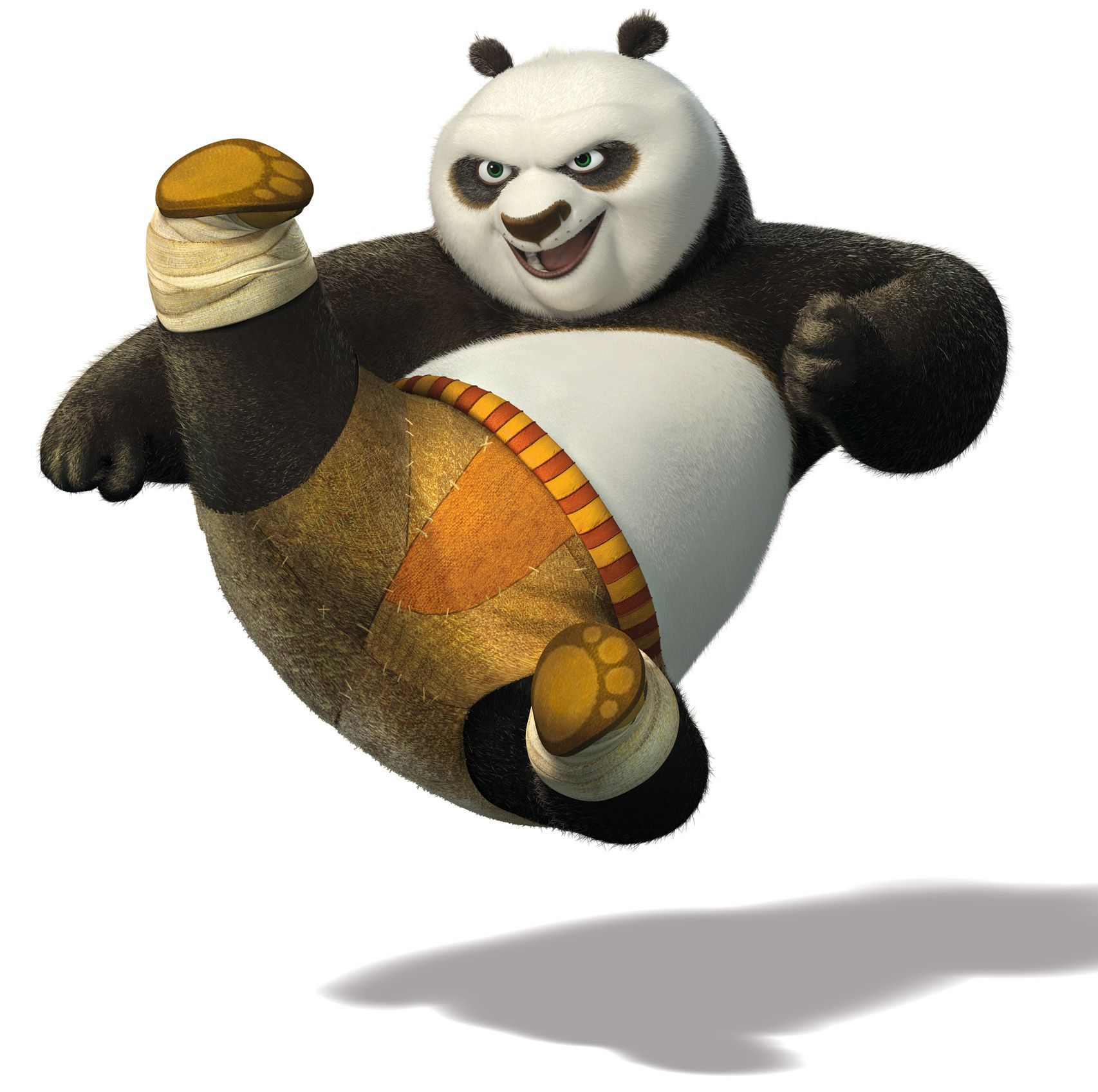 po kung fu panda kick
