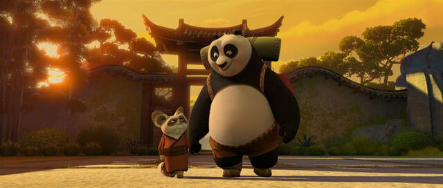 File:Po and Shifu back from training.jpg