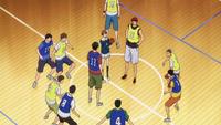 Seirin freshmen vs senpai's anime