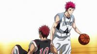 Ankle break on Kagami