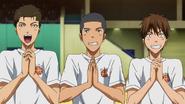 Furihata Kawahara and Fukuda happy
