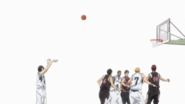 Mibuchi scores the free throw anime