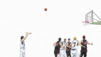 Mibuchi scores the free throw anime