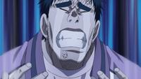 Okamura cries