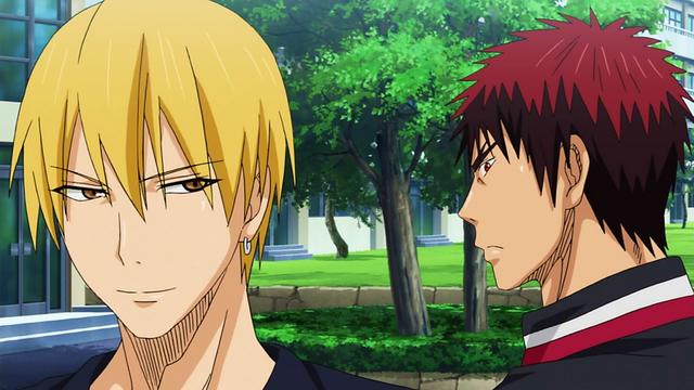 File:Kise with Kuroko and Kagami anime.png