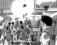 Akashi's own goal