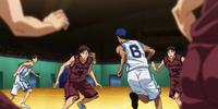 Teikō Junior High vs Kamizaki Junior High