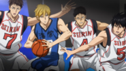 Cornered Kise