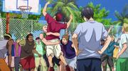 Kagami wins against Himuro anime