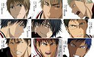 Kuroko no Basuke season 2 semi-roster