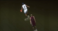 Inoue gives up on guarding Aomine