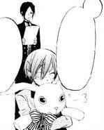 Ciel Hugs Rabbit