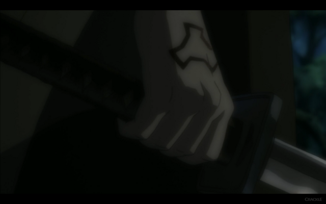File:Benkei's Hand With Red Army Tattoo.png