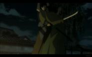 Okata Stabs a Villager