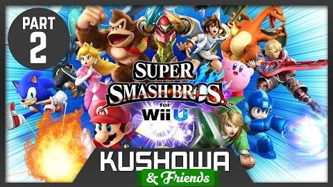 Kushowa & Friends Super Smash Bros. 4 Wii U Part 2
