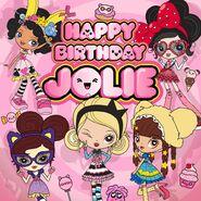 Happy Birthday Jolie