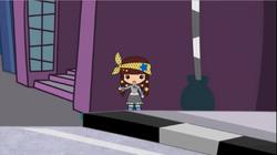 Angel's dummy hitchhiking